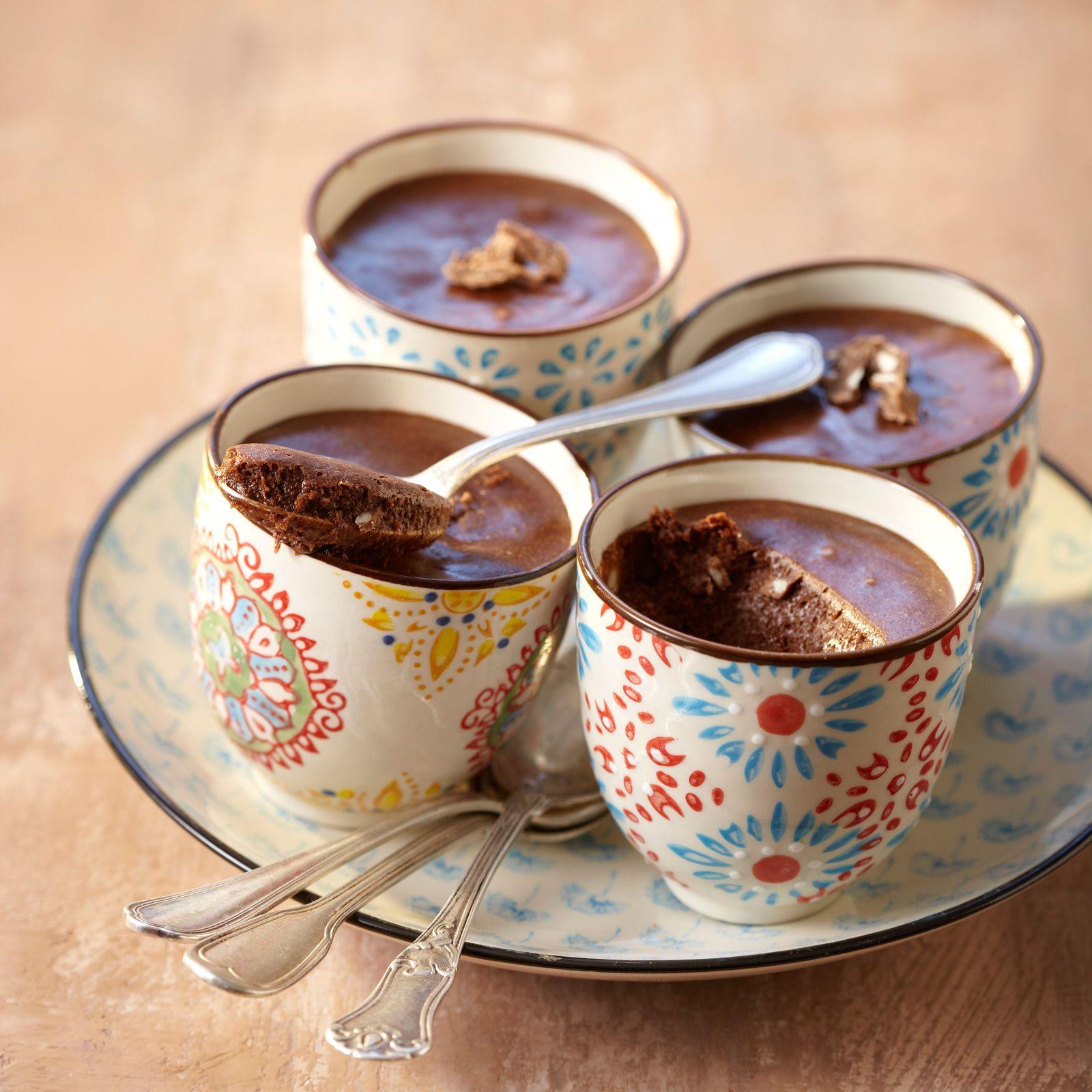 Découvrez la recette Mousse au chocolat de régime sur cuisineactuelle.fr.
