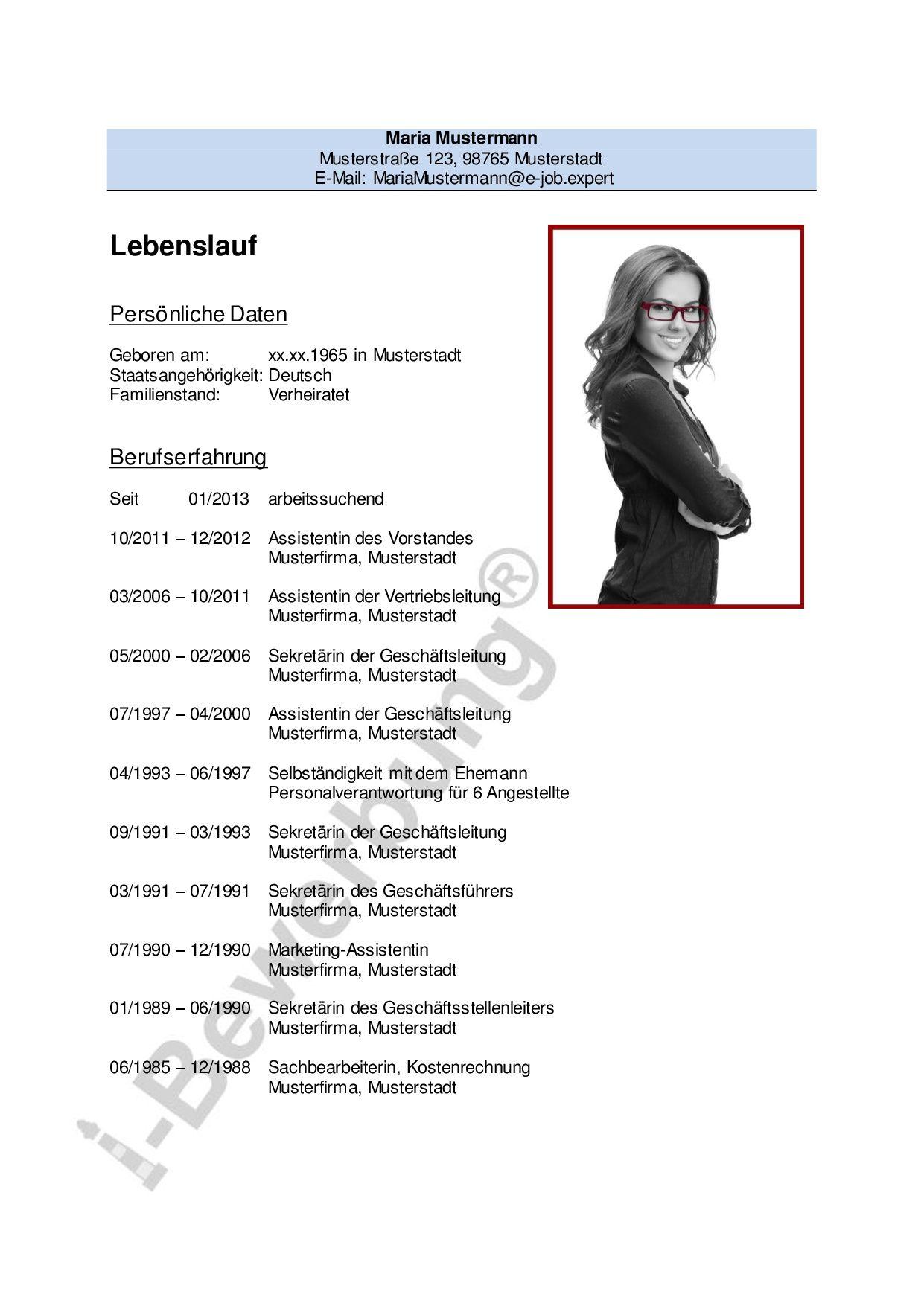 Fein Lebenslauf Marketing Assistent Bilder - Entry Level Resume ...