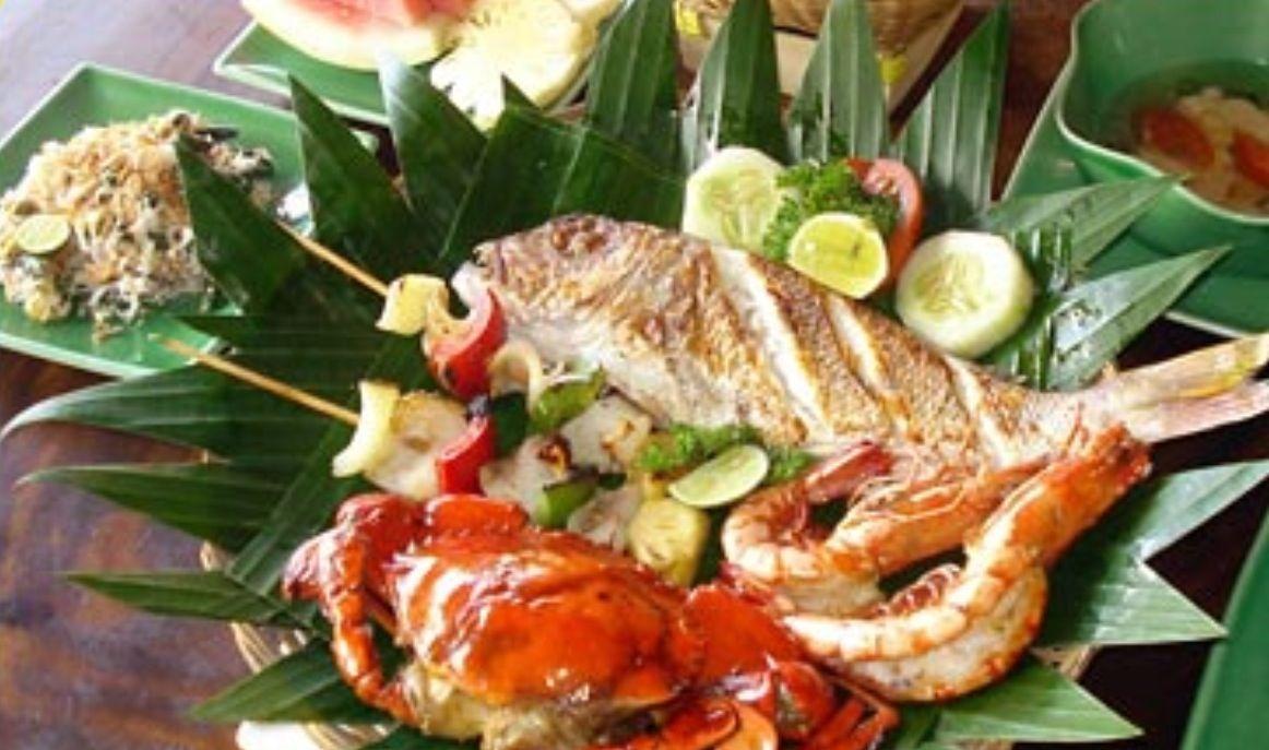 Bali grill fresh seafood ॐ Bali Floating Leaf EcoRetreat
