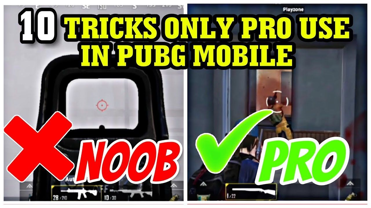 Hidden tricks in pubg mobile that only use pro | top 10 tricks for