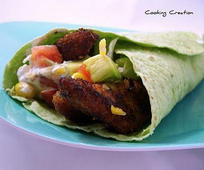 Southwestern Blackened Chicken Spinach Wraps