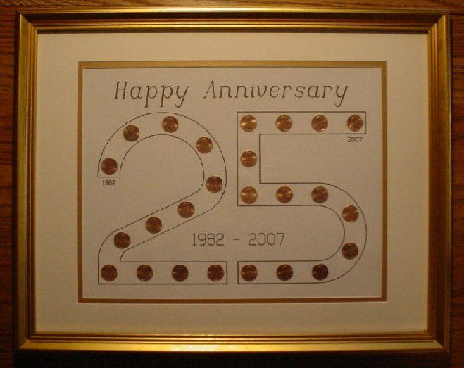 50th Anniversary Gift For Husband: Such A Great Idea! Start With The Year Someone Was Married