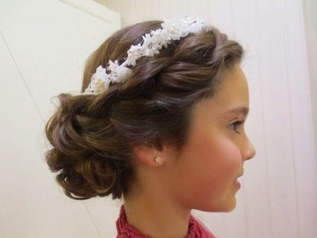 Peinados para ninas primera comunion 2016