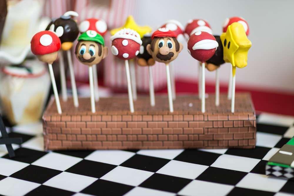 MARIO KART Birthday Party Ideas Mario kart Birthdays and Birthday