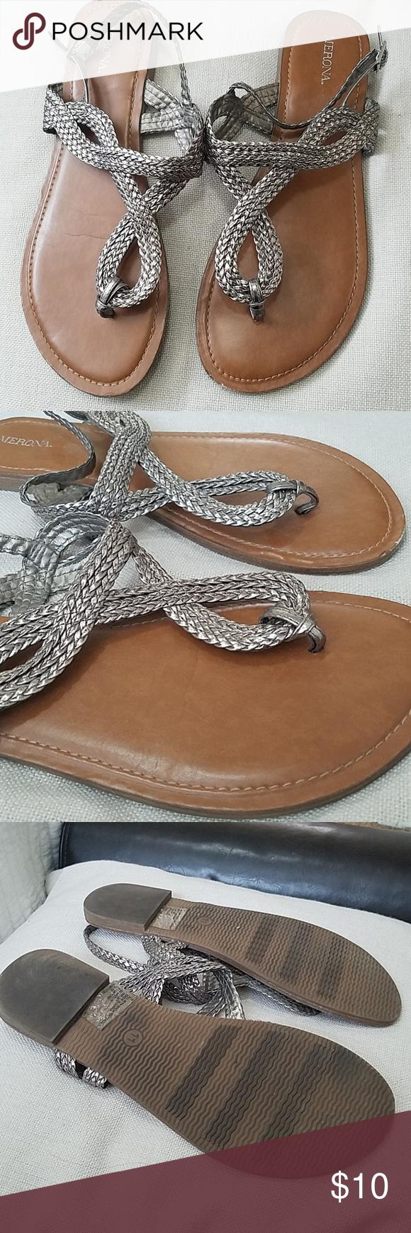 Merona sandals. Size 11 flats | Size 11