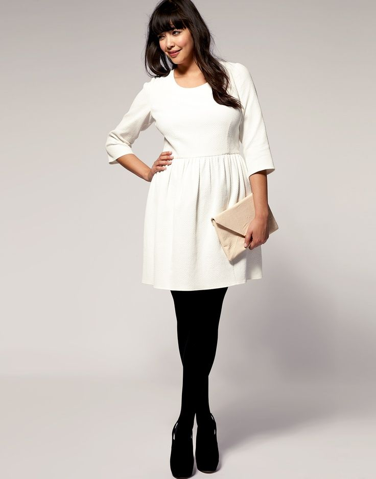 dd8a91a1d white dress black tights