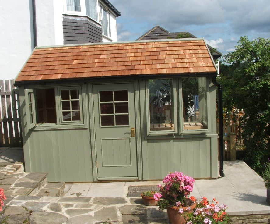 Bespoke potting shed/ greenhouse | Shed, Garden buildings ... on Bespoke Outdoor Living id=50064