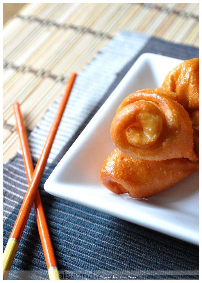 Salseando en la cocina: Flores de Mantou. Pan chino.