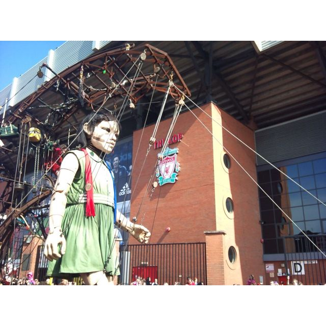 Giant spectacular ,anfield Liverpool