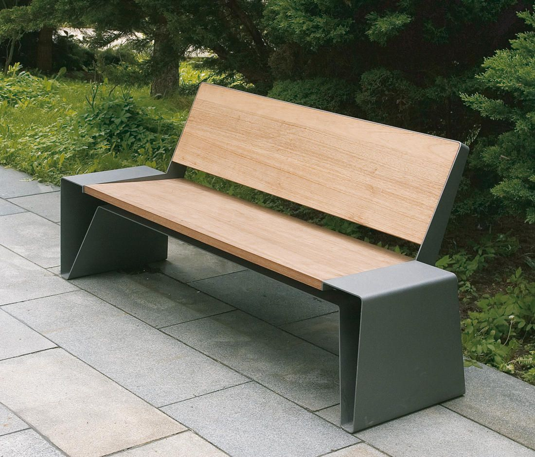 Radium Park Bench Designer Exterior Benches From Mmcité 400 x 300
