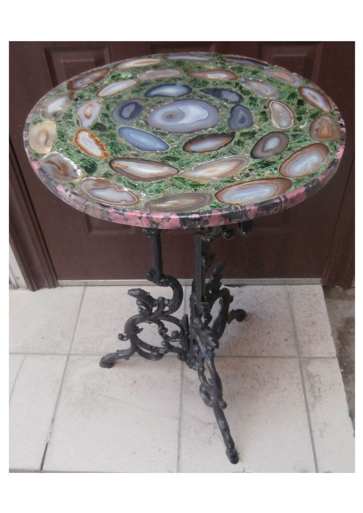 stone table tops. Agate Stone Table Top Mozaic, Hand Made Tops