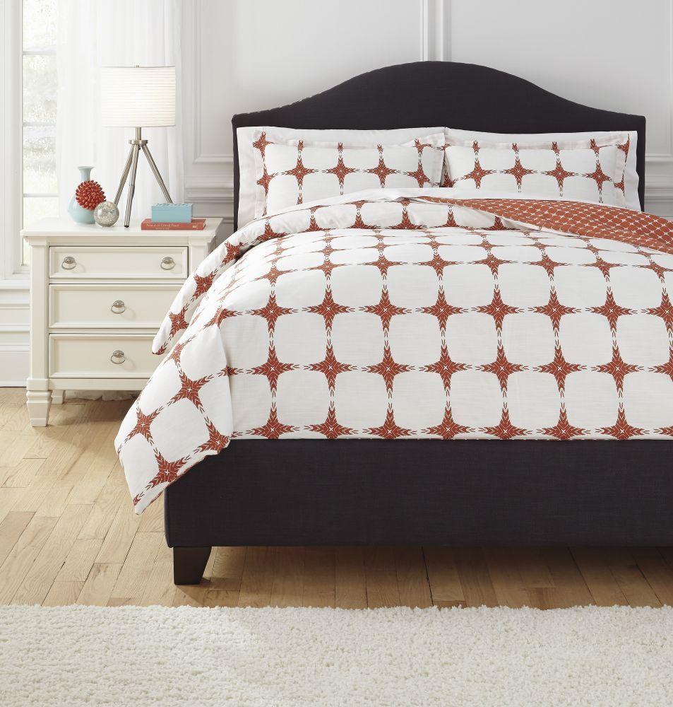 Cyrun Orange King Comforter Set King duvet cover sets