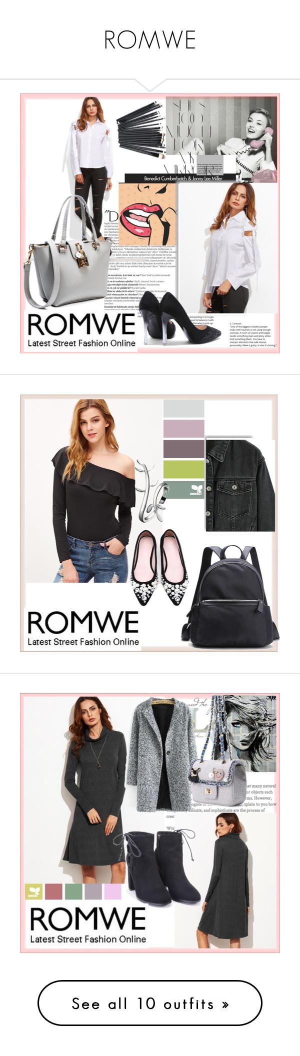 """ROMWE"" by damira-dlxv ❤ liked on Polyvore featuring Balmain, Rika and Shibuya"