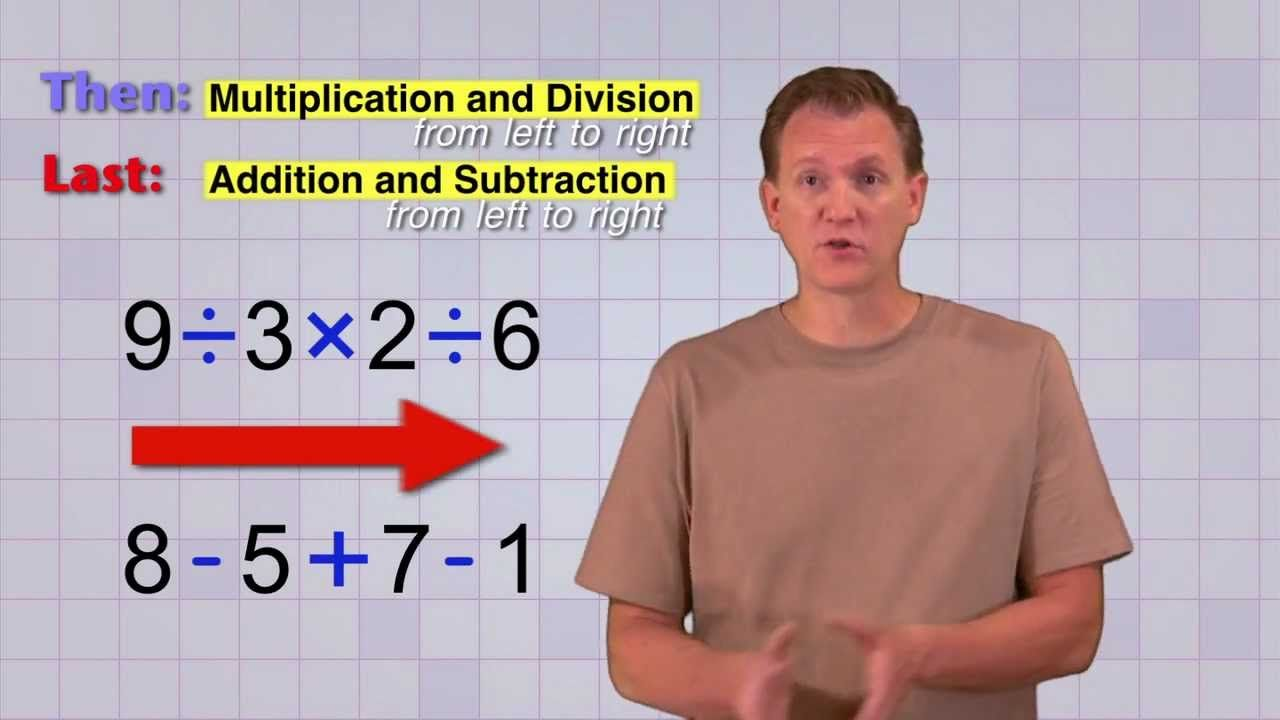 This Channel Mathantics Is A Great Resource For Learning Many Math Concepts Specifically This Video Is Ex Order Of Operations Middle School Math Math Videos Order of operations addition