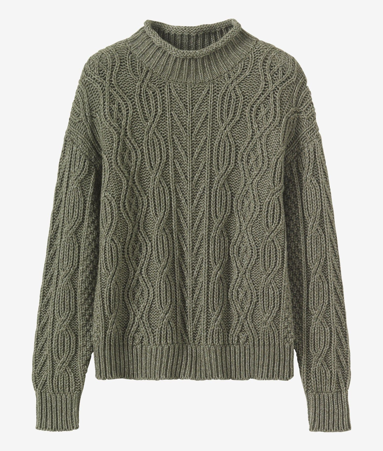 TOAST | Aran Lambswool & Cotton Sweater | Wear | Pinterest ...