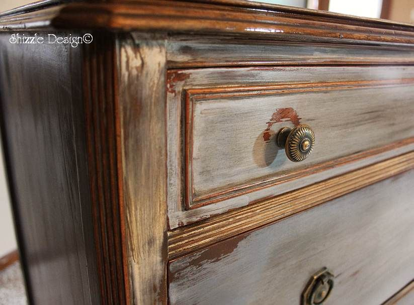 DIY  Antique dresser hand painted   waxed   tutorial  Love  love  love. DIY  Antique dresser hand painted   waxed   tutorial  Love  love
