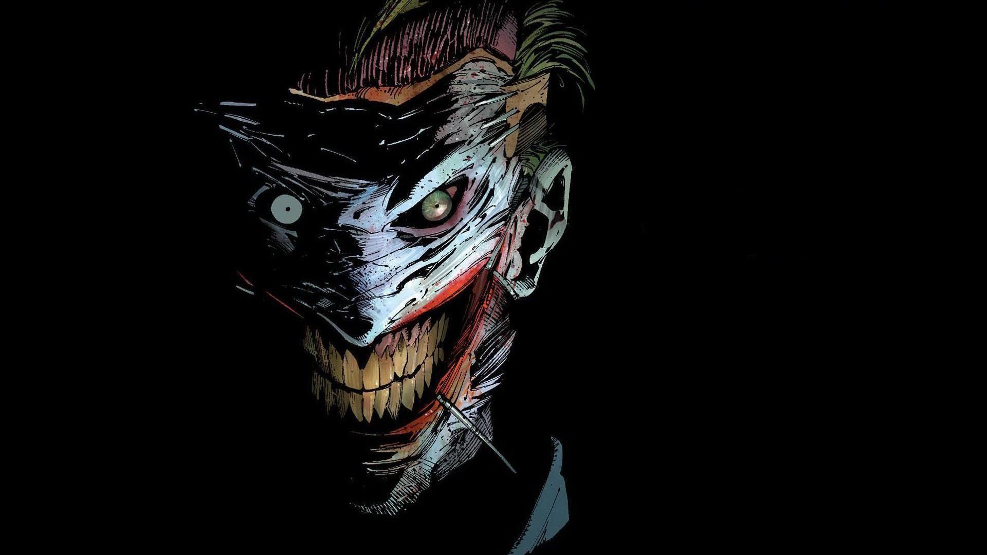 Wallpaper Joker Comic