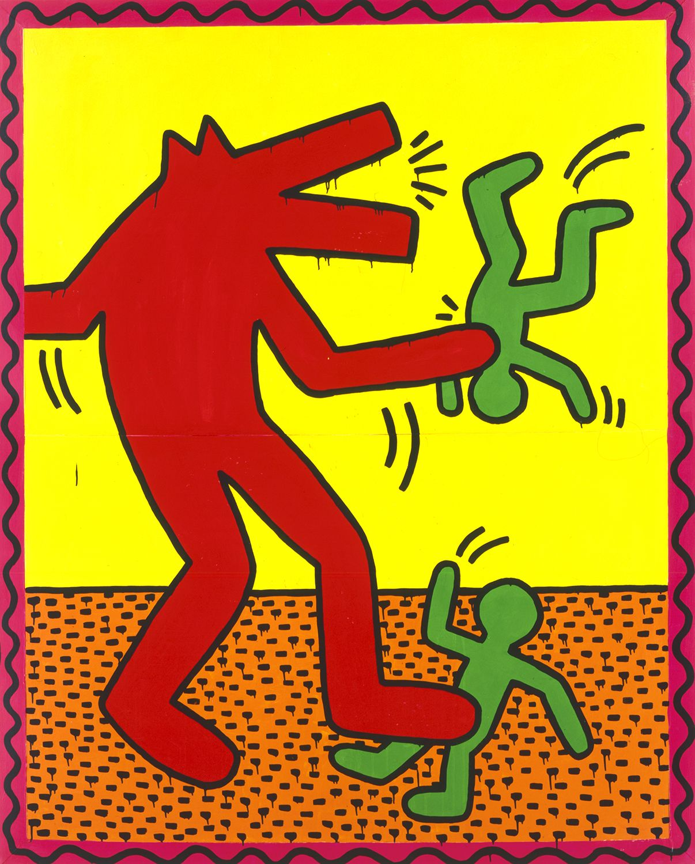 Keith Haring The Alphabet Keith Haring Art Keith Haring