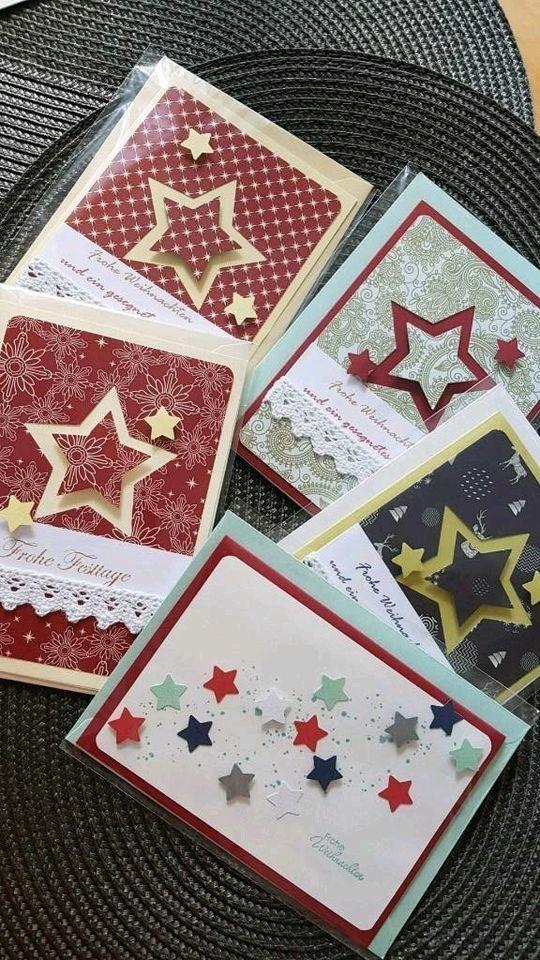 handarbeit weihnachtskarten z t mit stampin up neu in. Black Bedroom Furniture Sets. Home Design Ideas