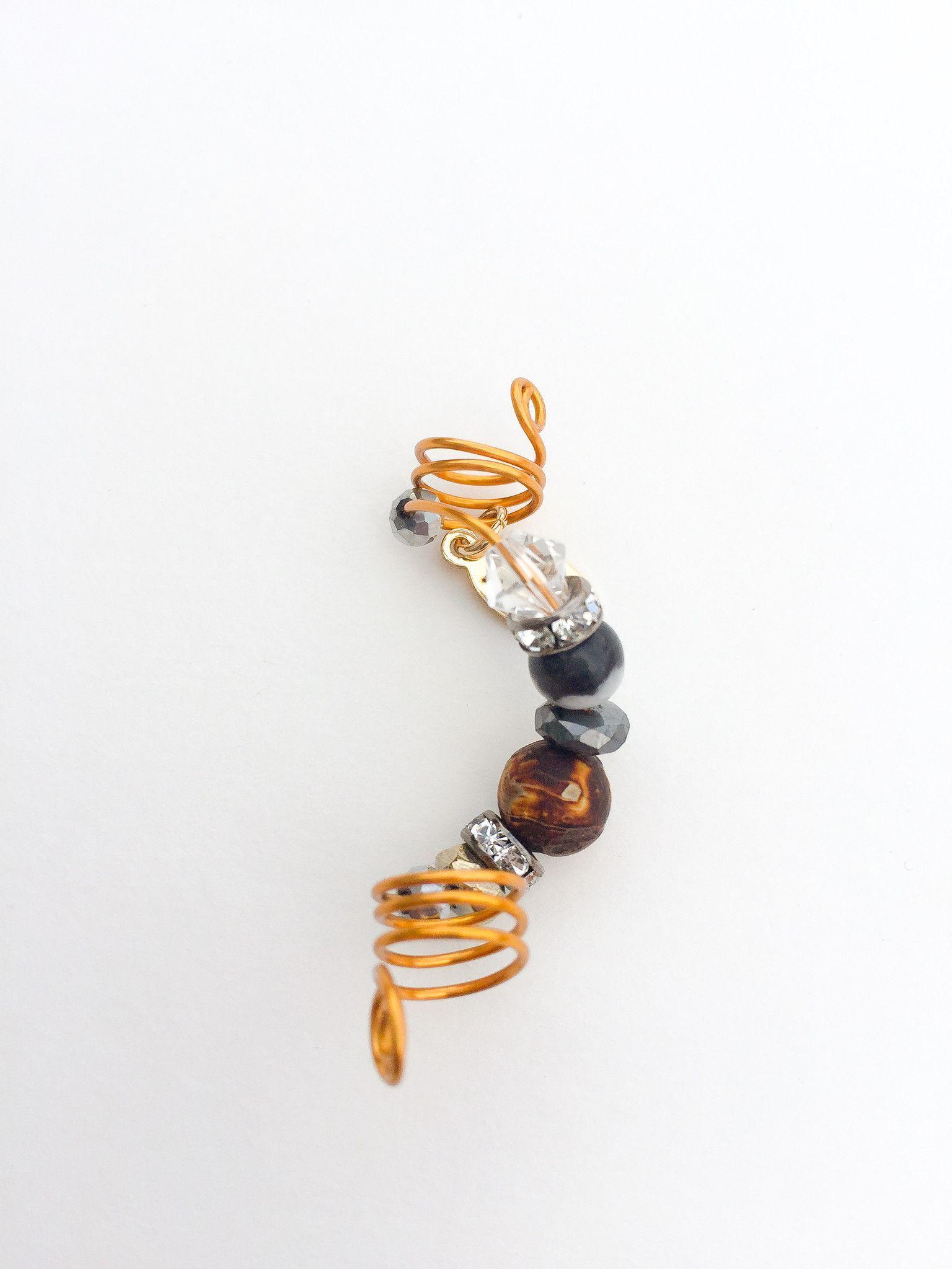 SANDDUNE Wood Fired Tibetan Agate Loc Jewel