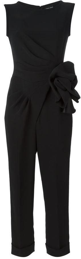 Giorgio Armani flower detail jumpsuit - LOVE!!! | Fashion ...