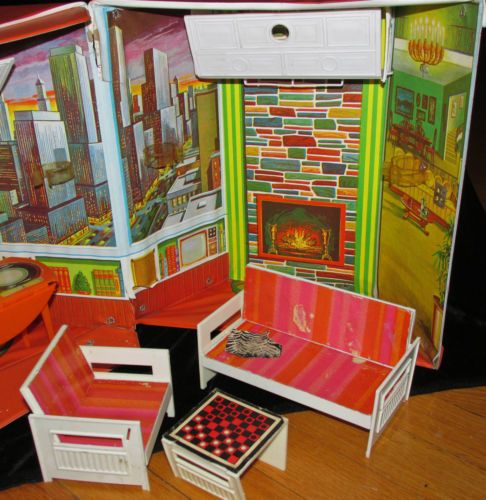 1970 Jamie Doll Party Penthouse Case 4990 Sears Exclusive
