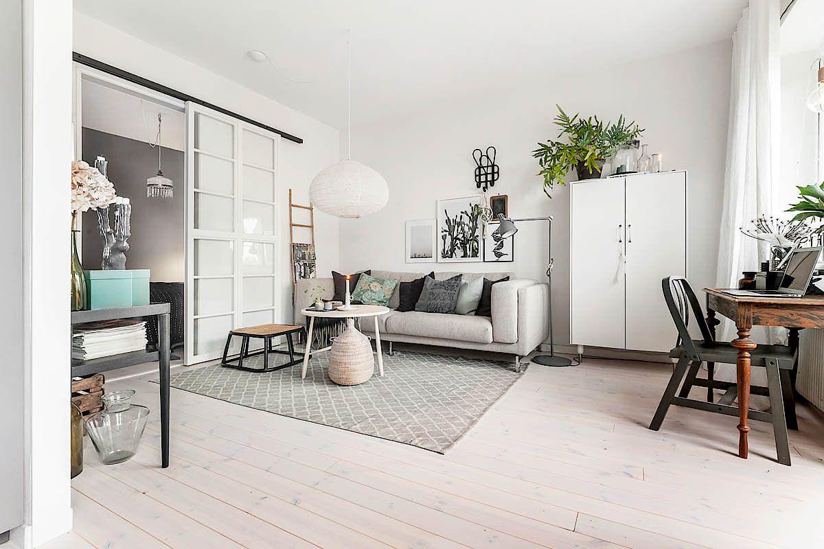 Una gran cocina en un apartamento mini con mucho estilo | EL CONFOR ...