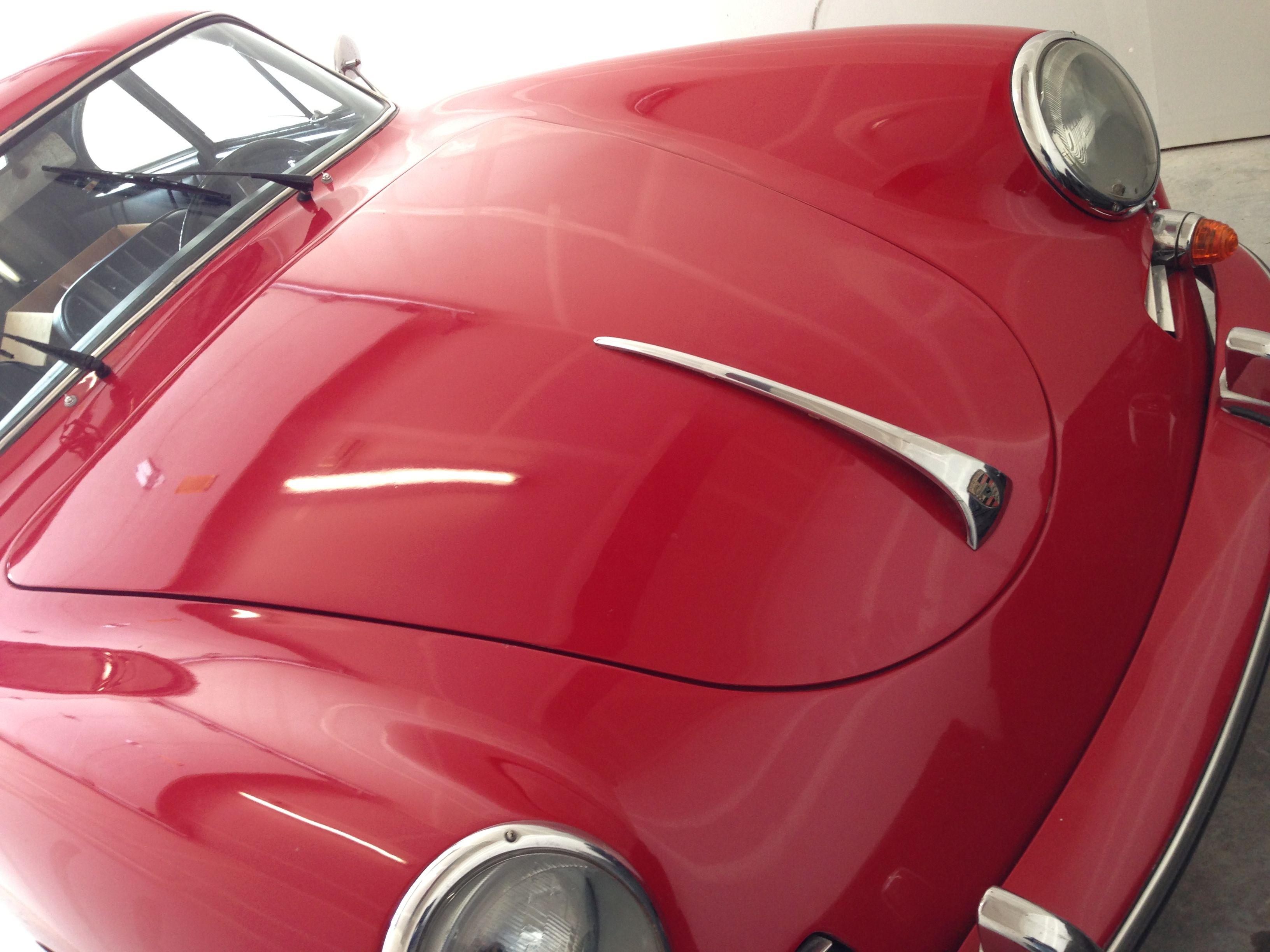 Dad's 1960 Porsche 356