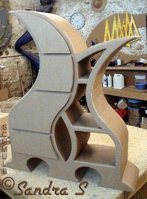 Meuble carton de méthode Schmulb 3 DIY furniture Pinterest