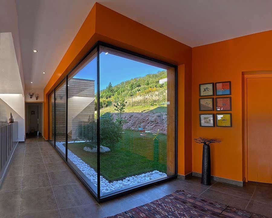 semi patio maison bois a limonest rhone 69