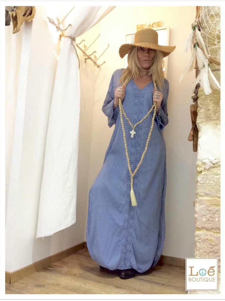 dress luna blue sautoir croix pompon sand coachella lo boutique retrouvez nous sur. Black Bedroom Furniture Sets. Home Design Ideas