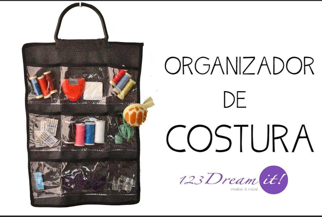 Aprende a hacer un organizador de costura y ten a la mano y en orden ...