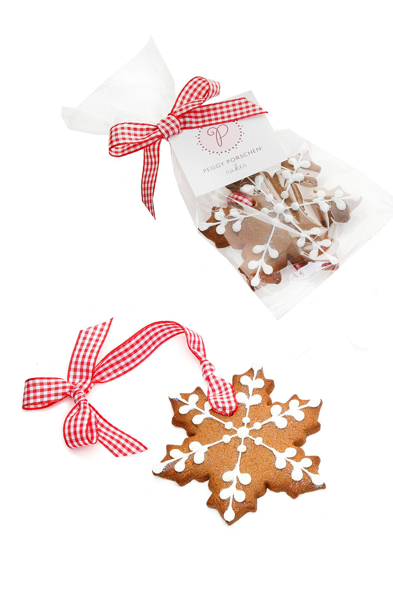 Festive Favours | Snowflake cookies, Cookie favors and Christmas ...