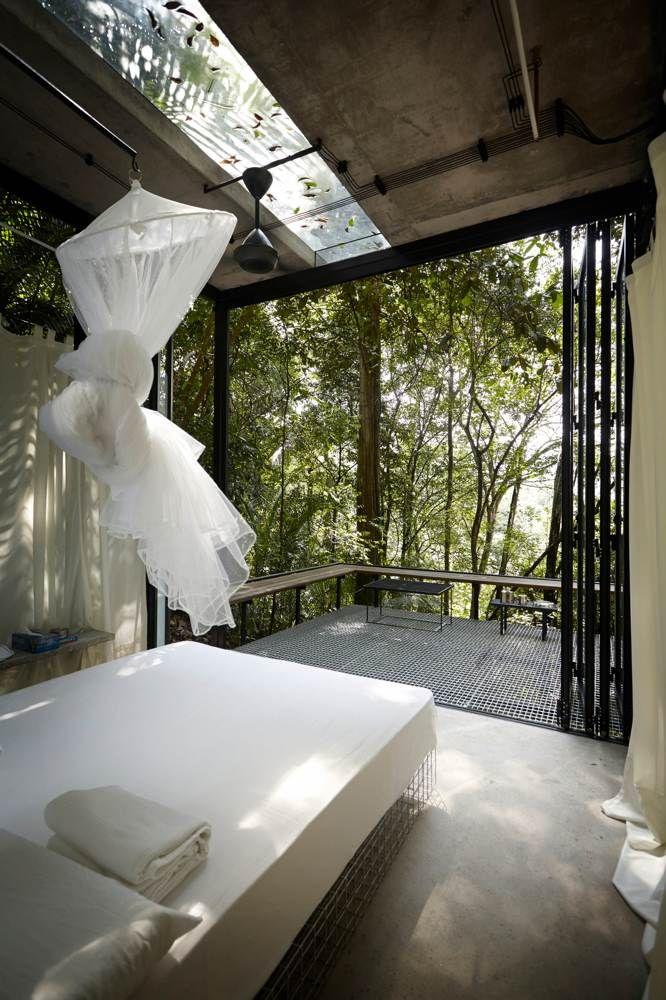 Sekeping Serendah Retreat Malaysia Eco House Design Retreat House Eco House