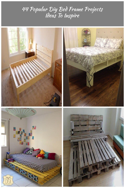 44 Popular Diy Bed Frame Proje (With images) Diy bed