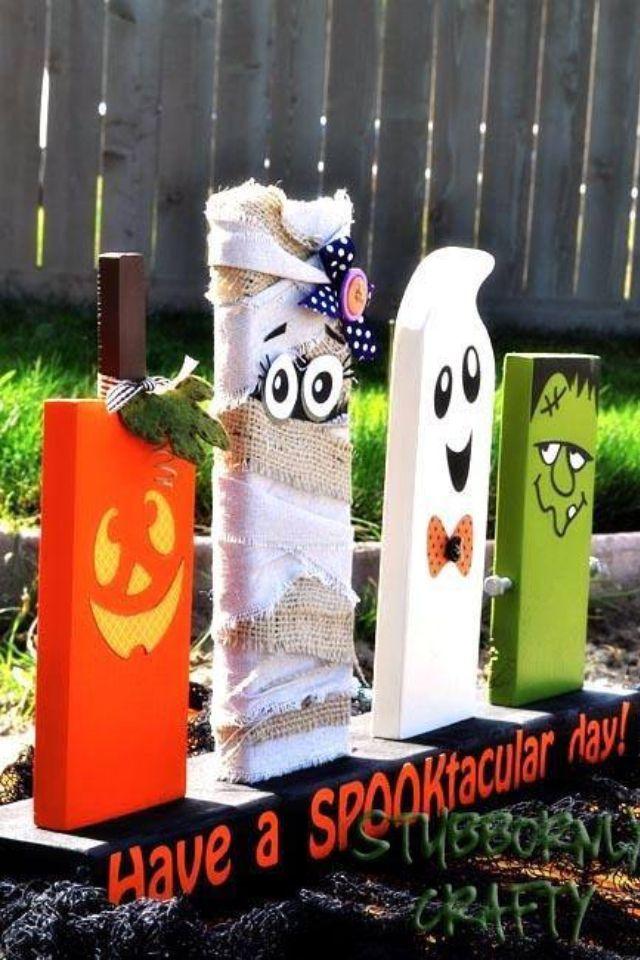 64 Best DIY Halloween Outdoor Decorations for 2018 👻 DIY - homemade halloween outdoor decorations