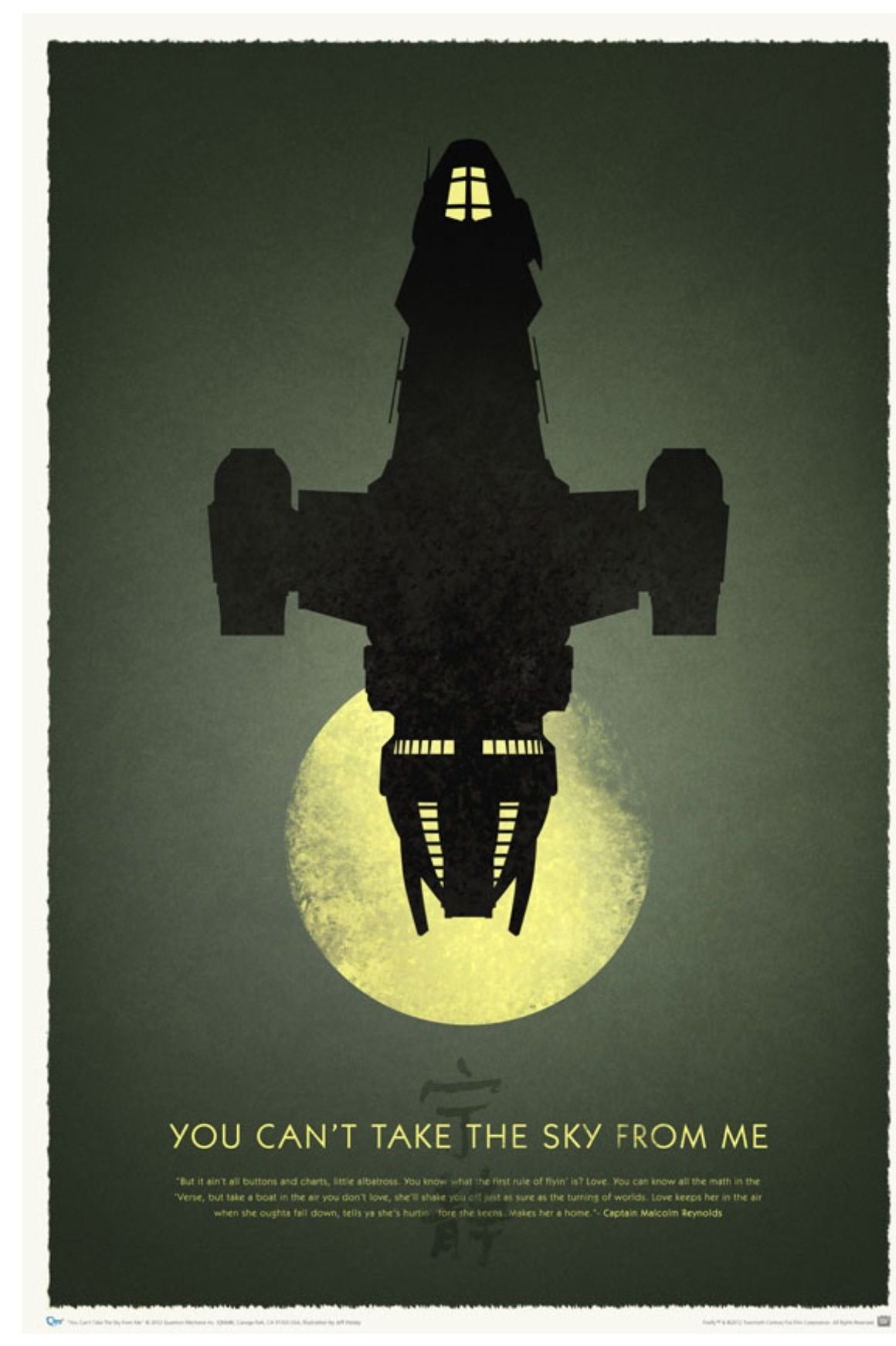 Firefly Poster Cast 11x17 Mini Poster