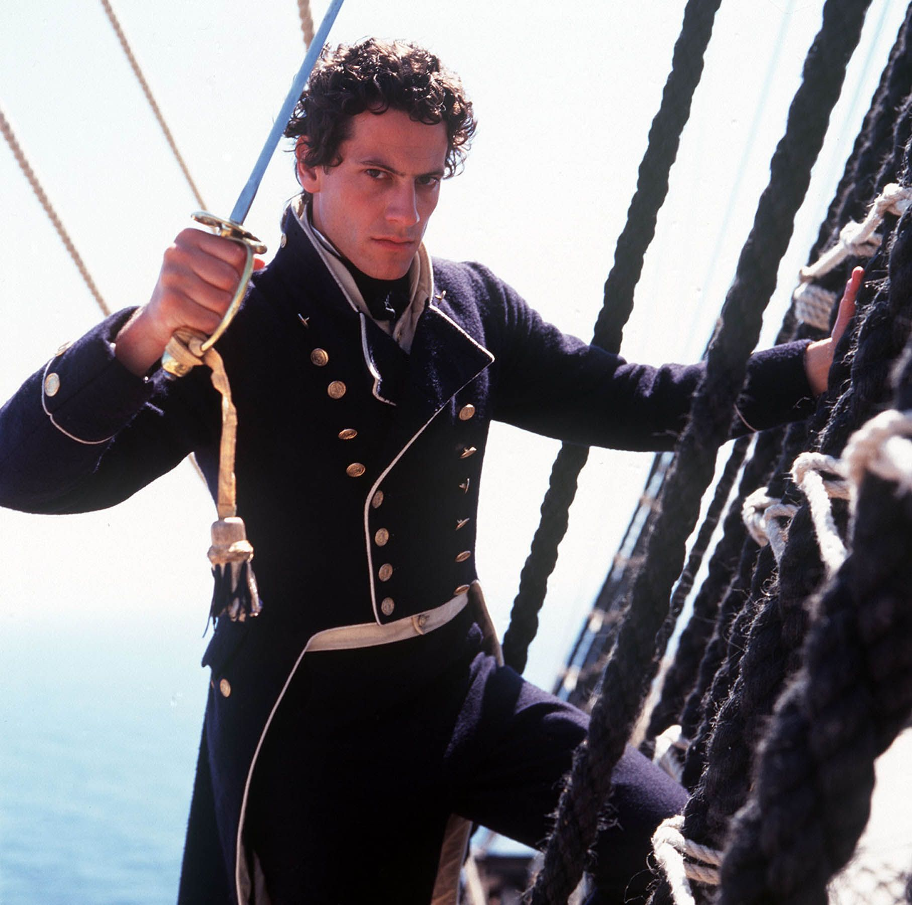 Hornblower Ioan Gruffudd as Horatio Hornblower in 2019