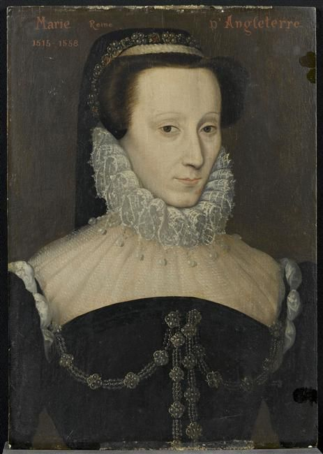 Marie Tudor 1516 1558 Reine D Angleterre Auteur Anonyme Ecole Ecole Francaise Credit Photographi Marie Tudor Reine D Angleterre Costume Renaissance