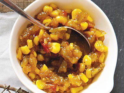 TomatoCorn Relish Recipe Fresh corn recipes, Corn