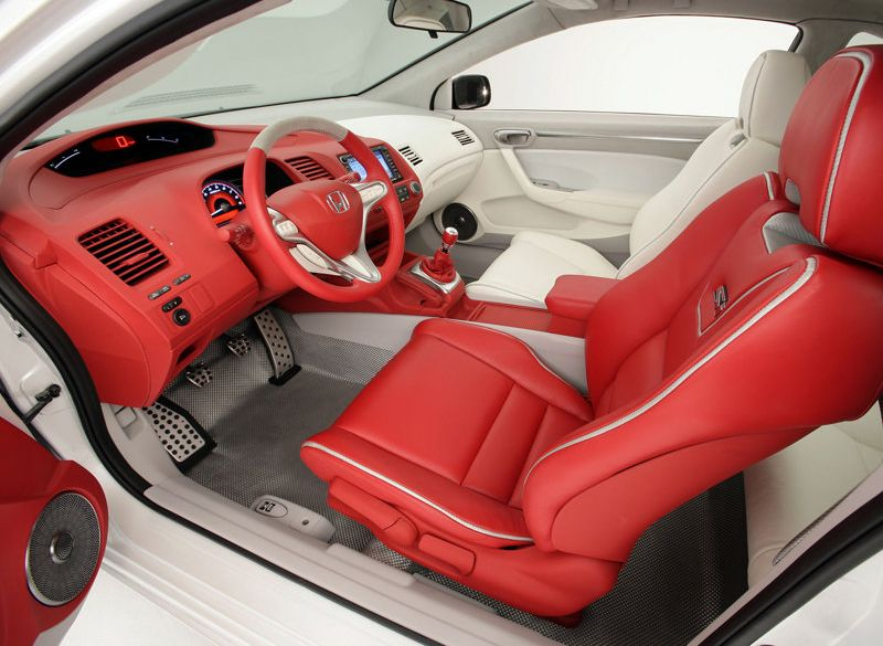 Honda Civic 2005 Interior Si Sport Concept 1 My Future Car