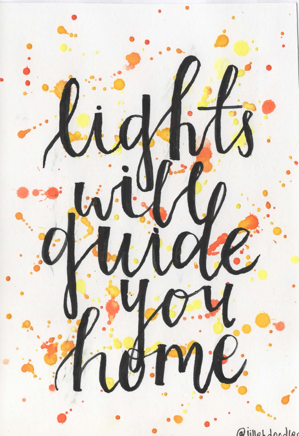 Lights will Guide You Home Postcard via Jillehdoodles. Click on the ...
