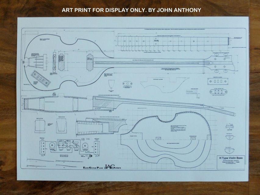 A3 Display prints - John Anthony Guitars & Elite Guitar Plans ...
