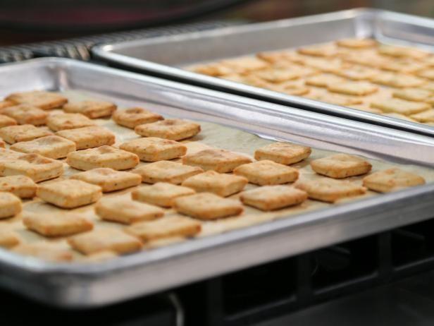 Rosemary and Pepper Crackers Recipe | Valerie Bertinelli | Food Network