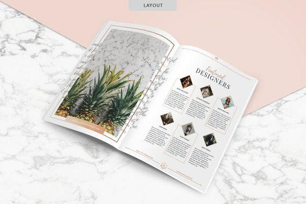 ROSE GOLD | Magazine by Marigold Studios on @creativemarket