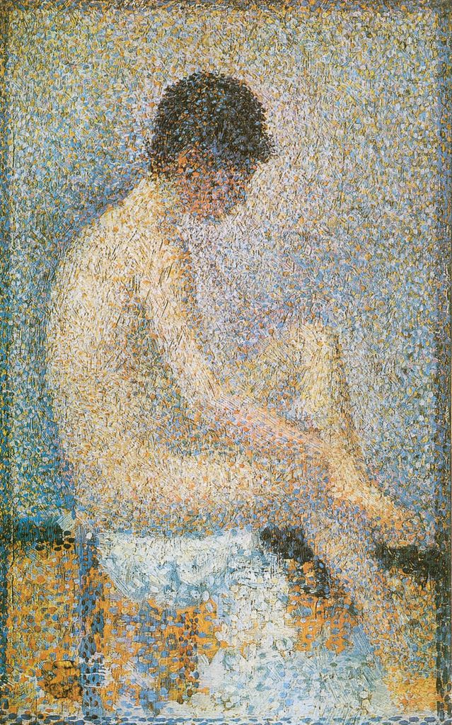 Georges Seurat - Model, Back View