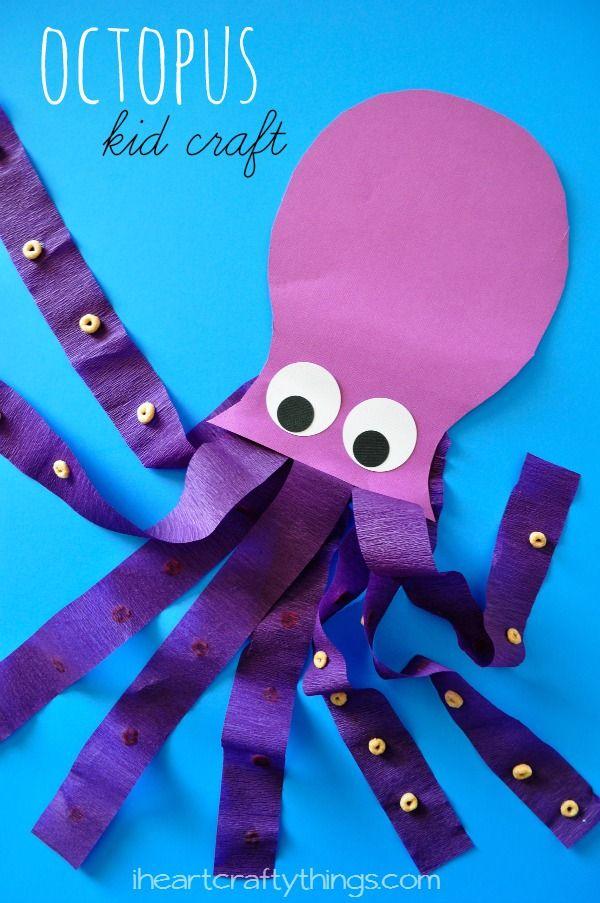 Octopus Kids Craft Kid Blogger Network Activities Crafts