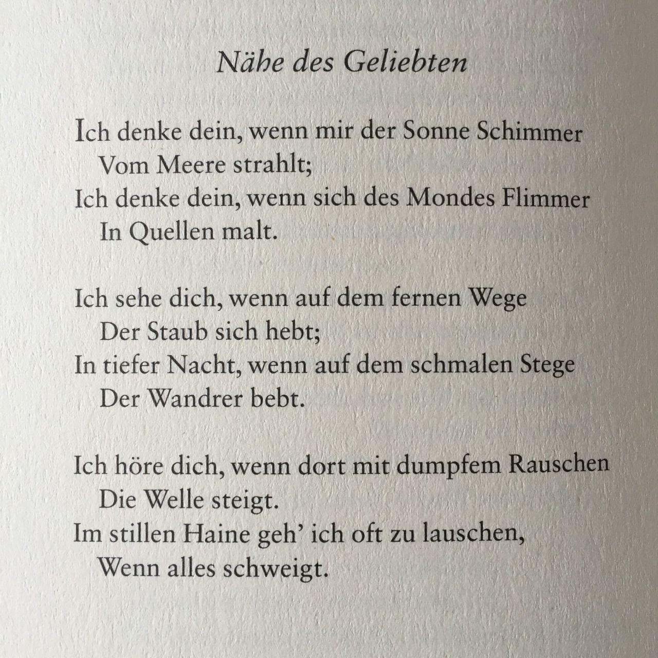 Deutsche Lyrik Von Damals Und Heute Gedichte Liebe