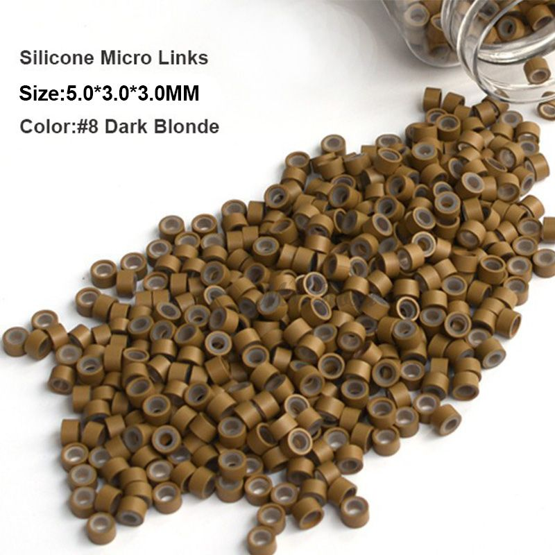 Silicone micro beads 503030mm 1000pcsbottle 11 light brown cheap silicon micro beads buy quality hair extension ring directly from china micro ring beads suppliers silicone micro beads light brown microlink micro pmusecretfo Image collections