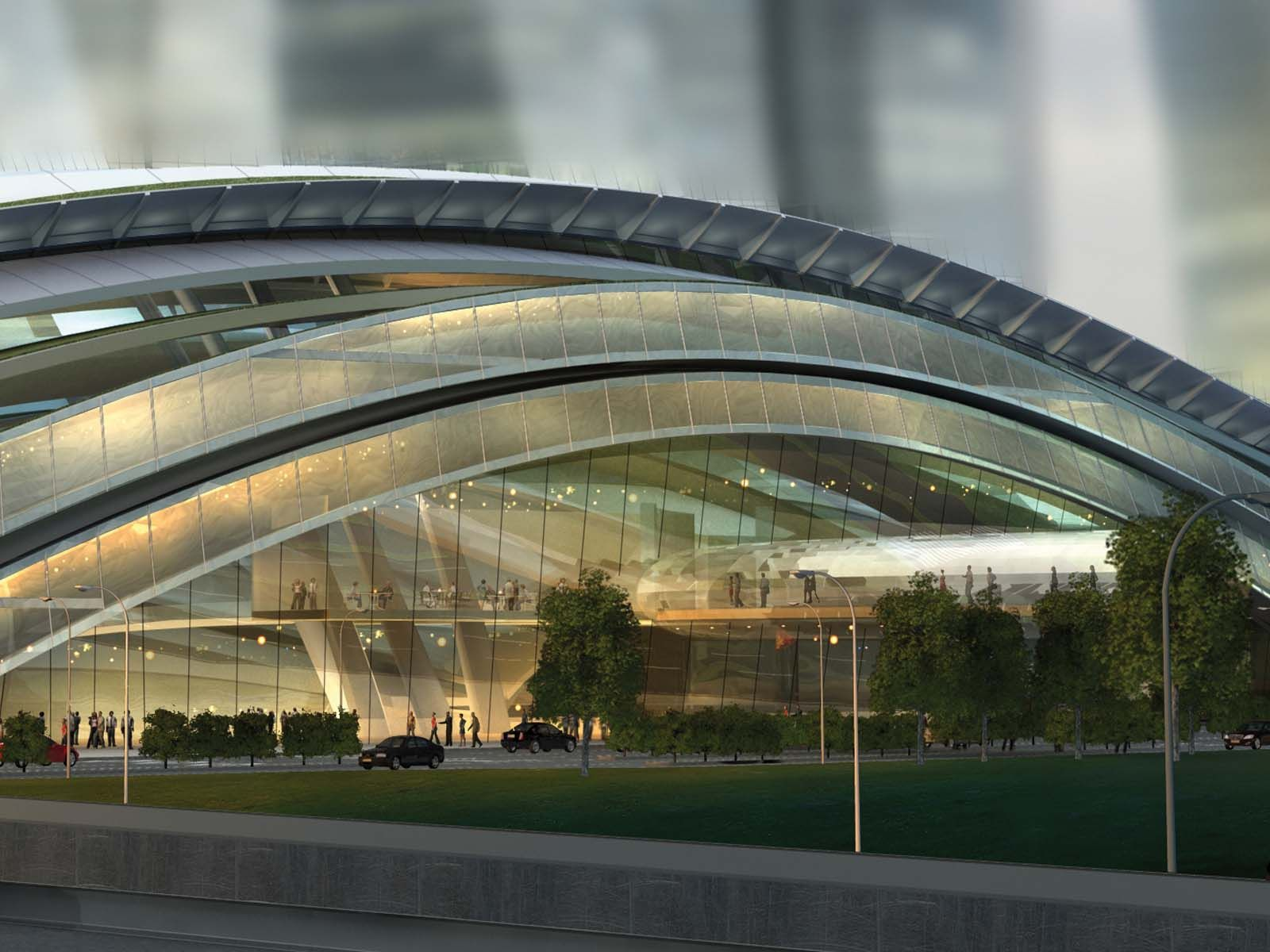 Express Rail Link West Kowloon Terminus Hong Kong   Kowloon. Service design. Architecture